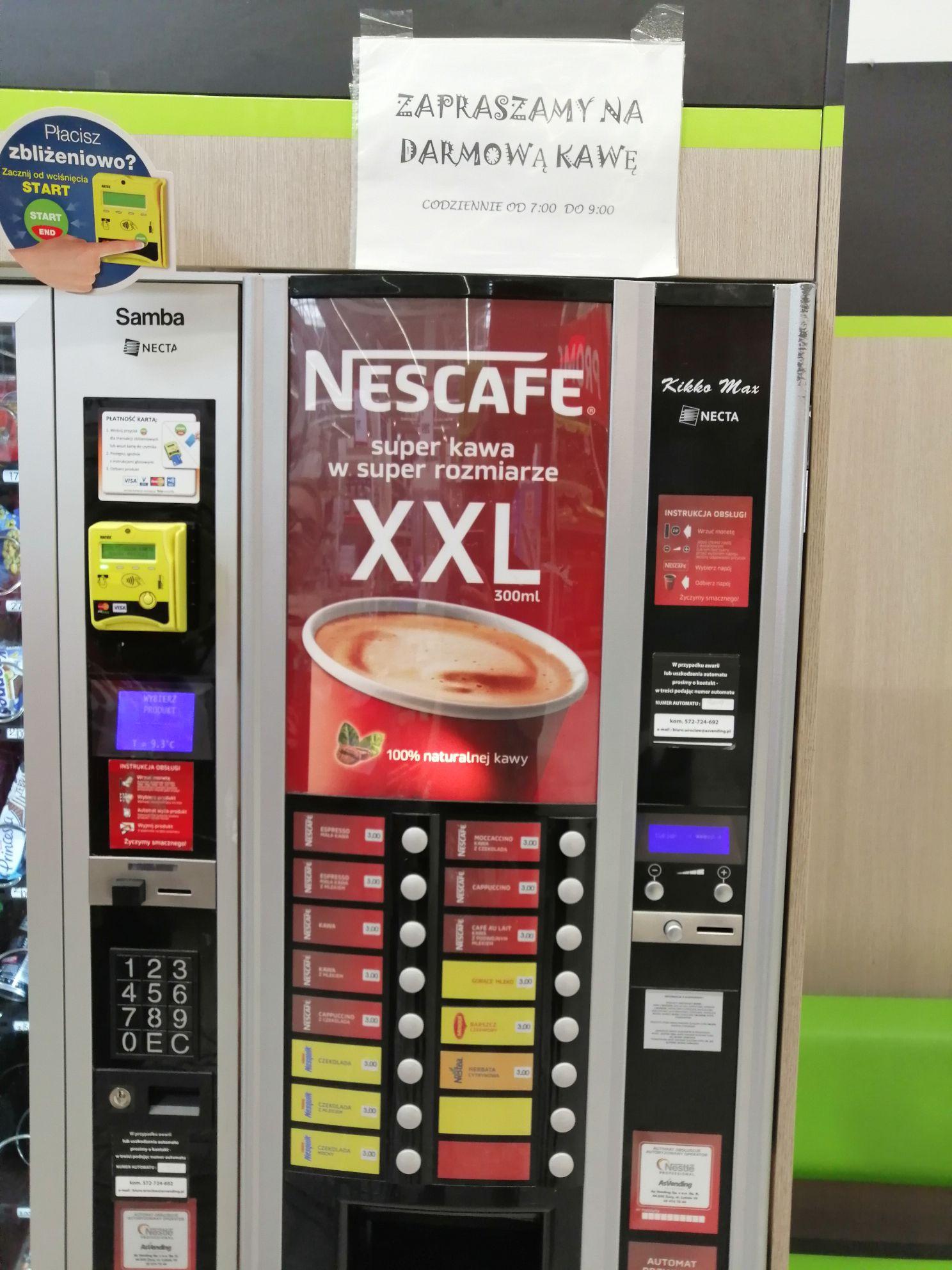 Darmowa kawa codziennie od 7 do 9 w Leroy Merlin