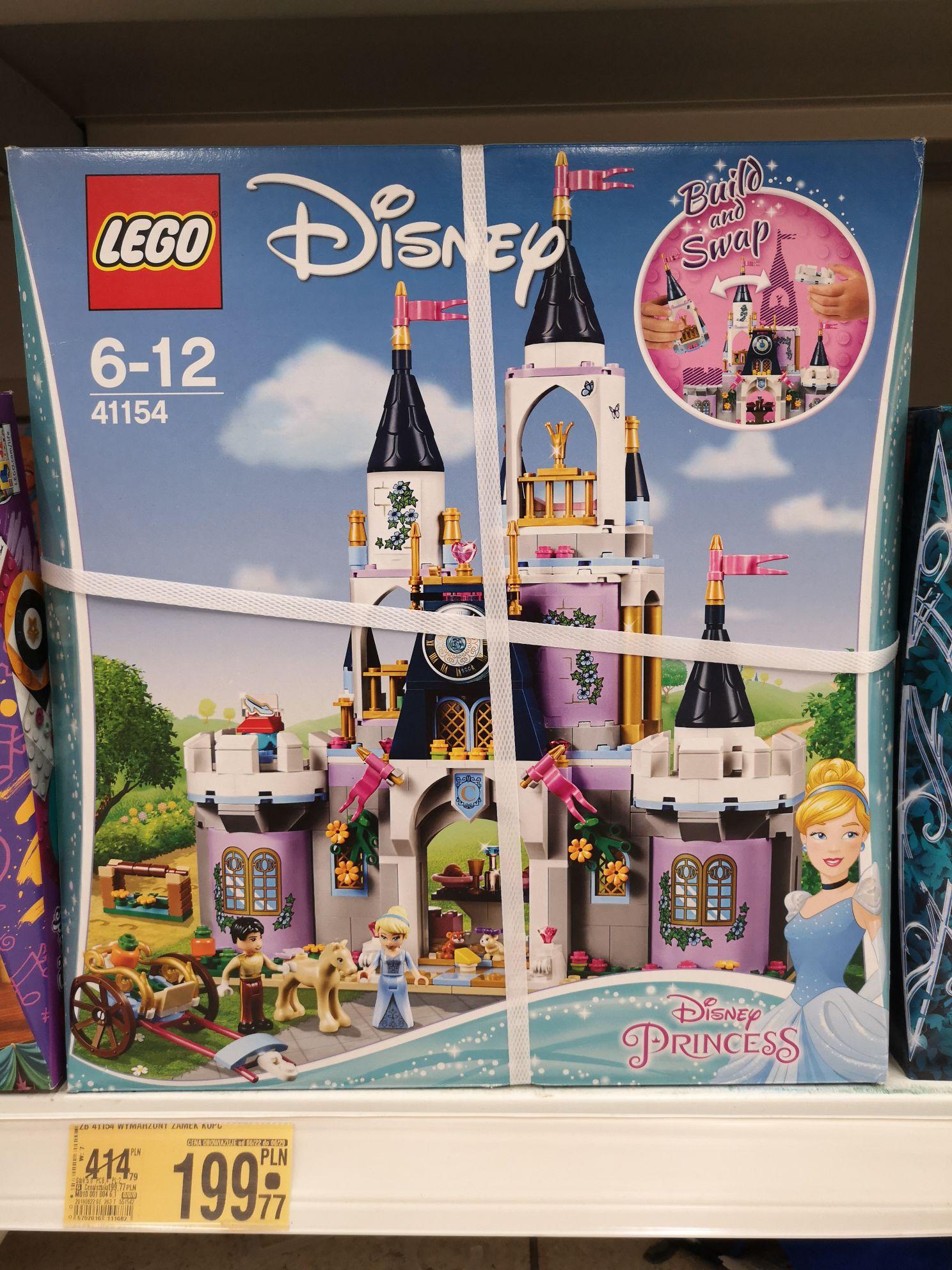 Lego 41154 zamek Kopciuszka Auchan Kielce