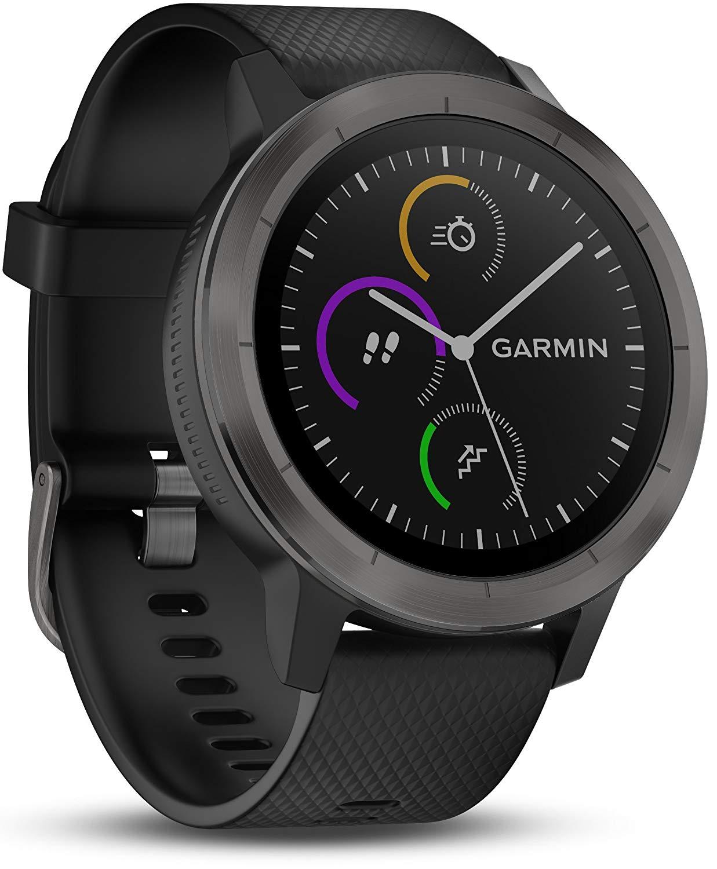 Garmin Vivoactive 3 kolor Gunmetal (czarny) z Amazon.it
