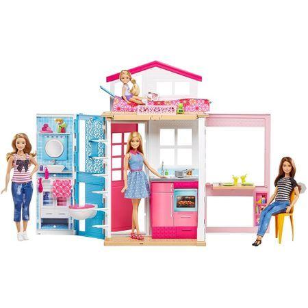 Barbie - Domek plus lalka DVV48 @ Emag