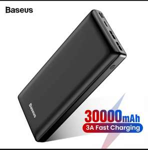 Powerbank Baseus 30000 mAH Fast Charge 86 zł ! Aliexpress