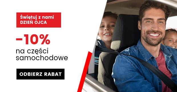 -10% na Dzień Ojca w iParts.pl  (części samochodowe)