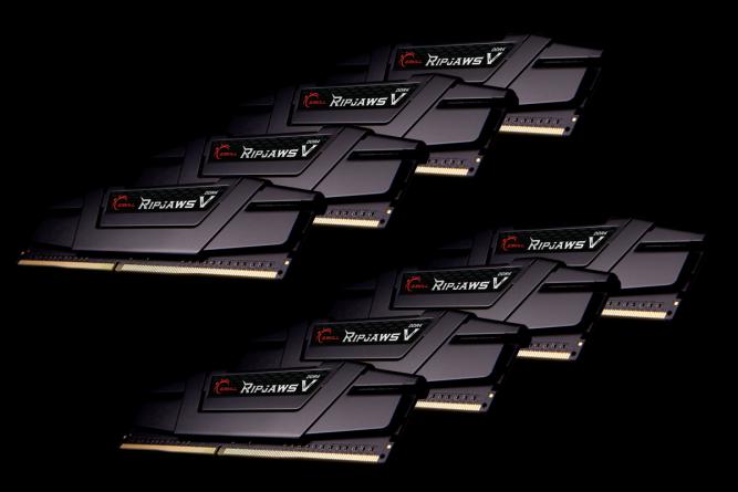 RAM DDR4 G.Skill Ripjaws V 64 GB,3200MHz, CL14 /B-die