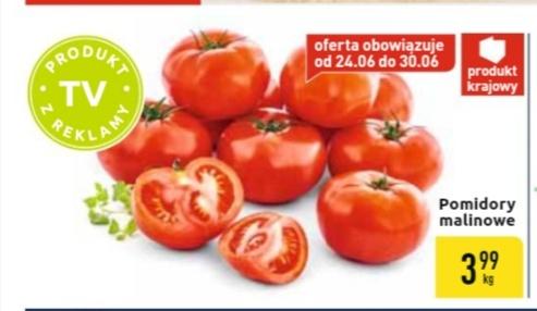 Pomidory polskie malinowe@Carrefour 24-30.06