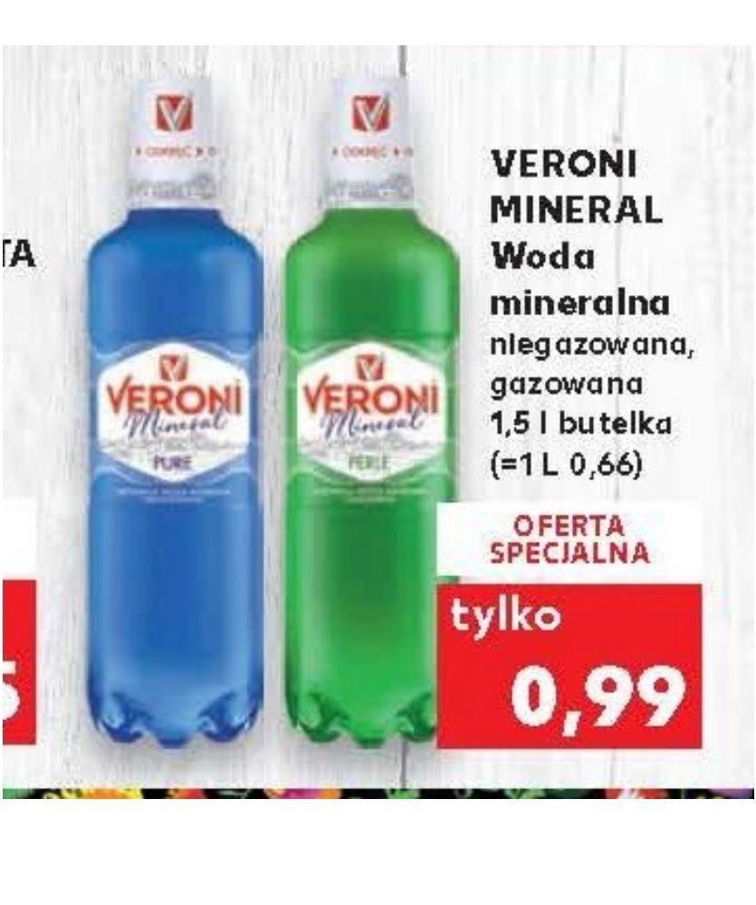 Woda mineralna VERONI MINERAL. Kaufland