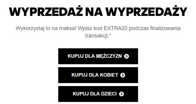 EXTRA20 adidas -20% od promocyjnej ceny