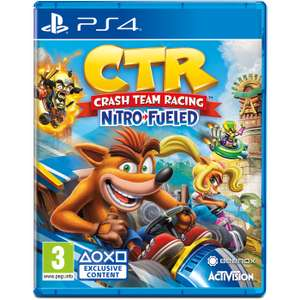 Crash Team Racing Nitro-Fueled + Spyro Reignited Trilogy PS4