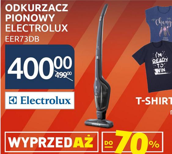 Odkurzacz pionowy Electrolux EER73DB za 400zł @ Carrefour