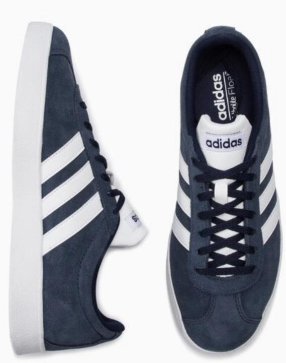 Obuwie sportowe Adidas DA9854 VL COURT 2.0 Granatowy