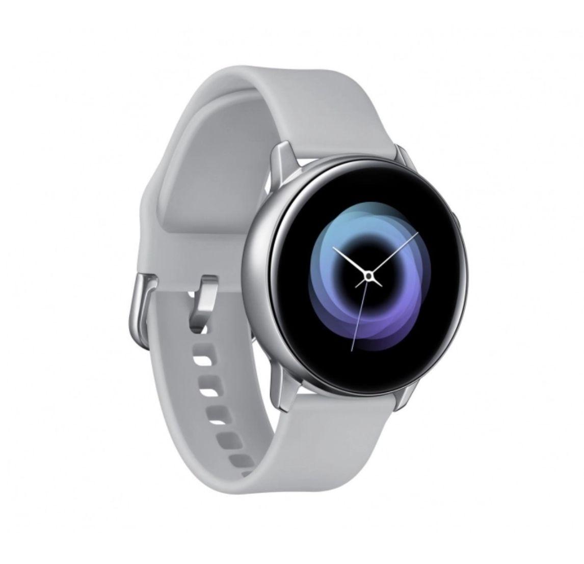 Galaxy Watch Active silver i green x-kom