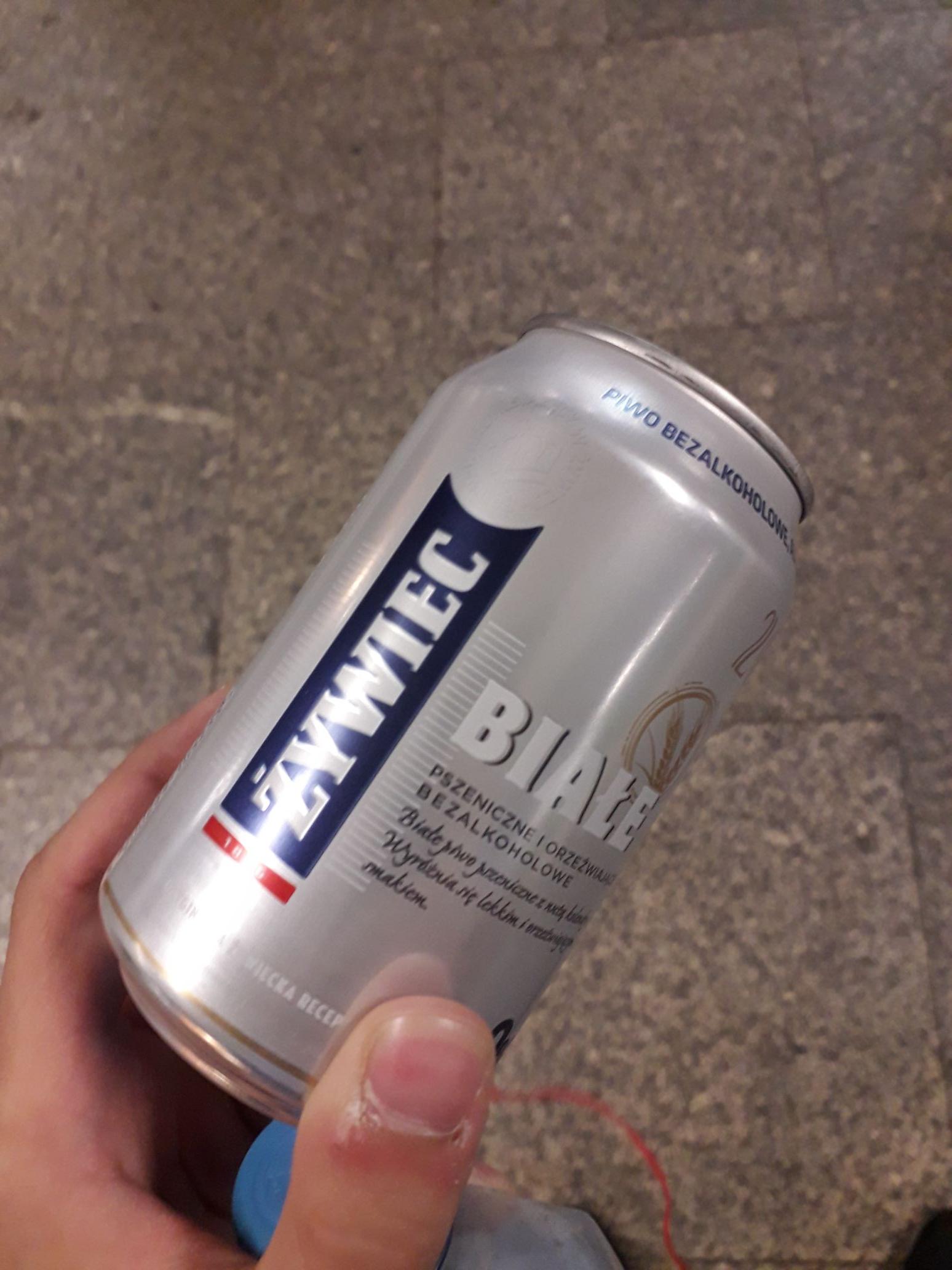 Darmowe piwo żywiec 0 proc Warszawa patelnia
