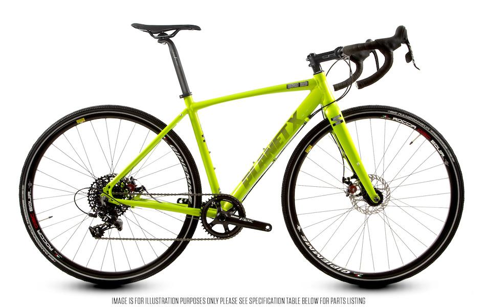 Rower szosowo/przełajowy PlanetX London Road  Apex1