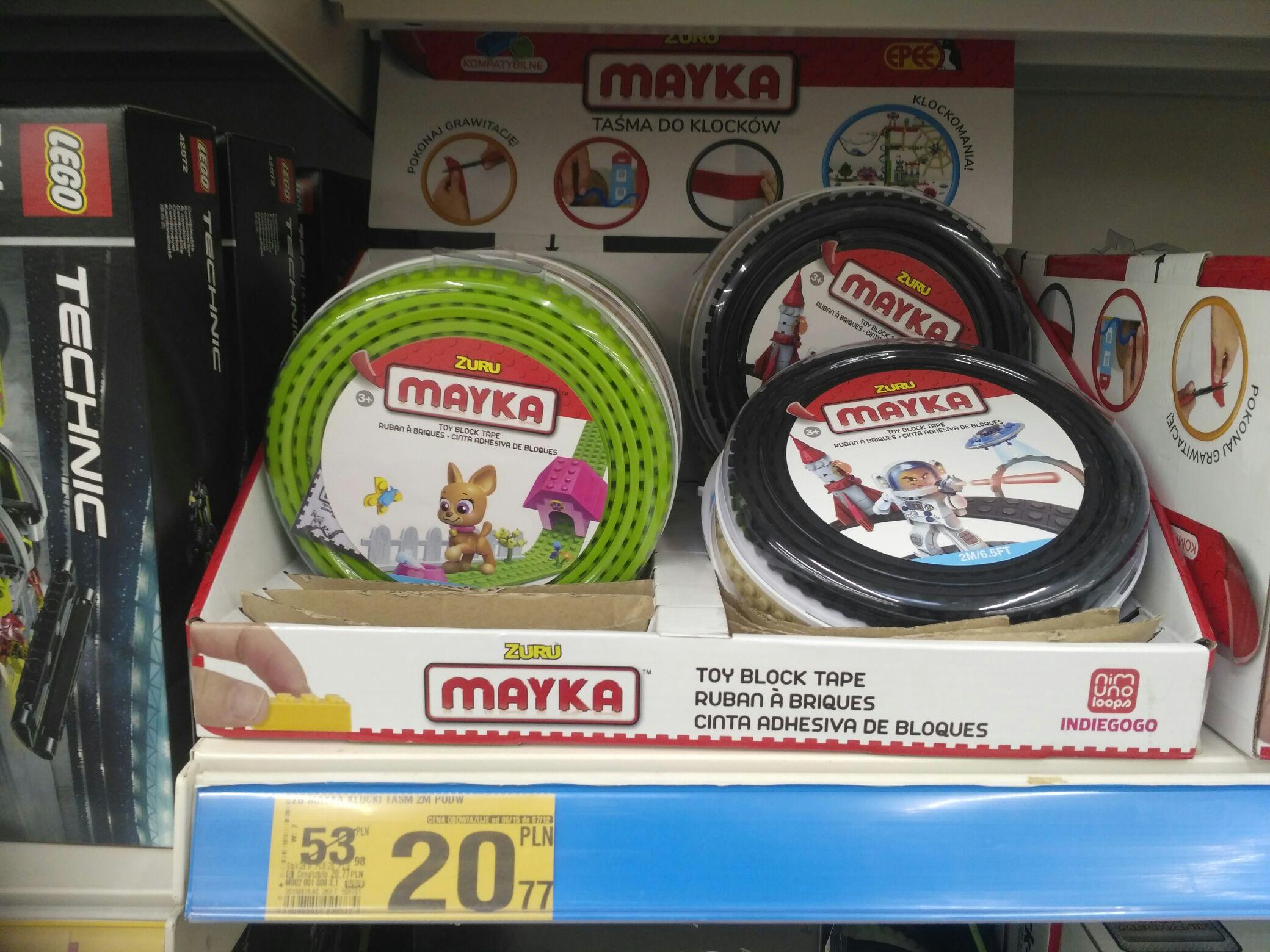Mayka taśma Lego podwójna 2m Auchan Marki