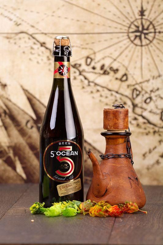 Rosyjskie Piwo Grand Ale 5 Ocean 0,75 L Aldi @Aldi