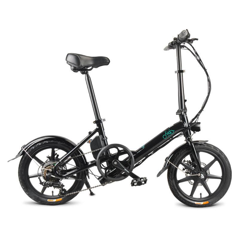 Rower elektryczny z przerzutkami i składaną kierownicą FIIDO D3 Shifting Electric Bike 7.8Ah