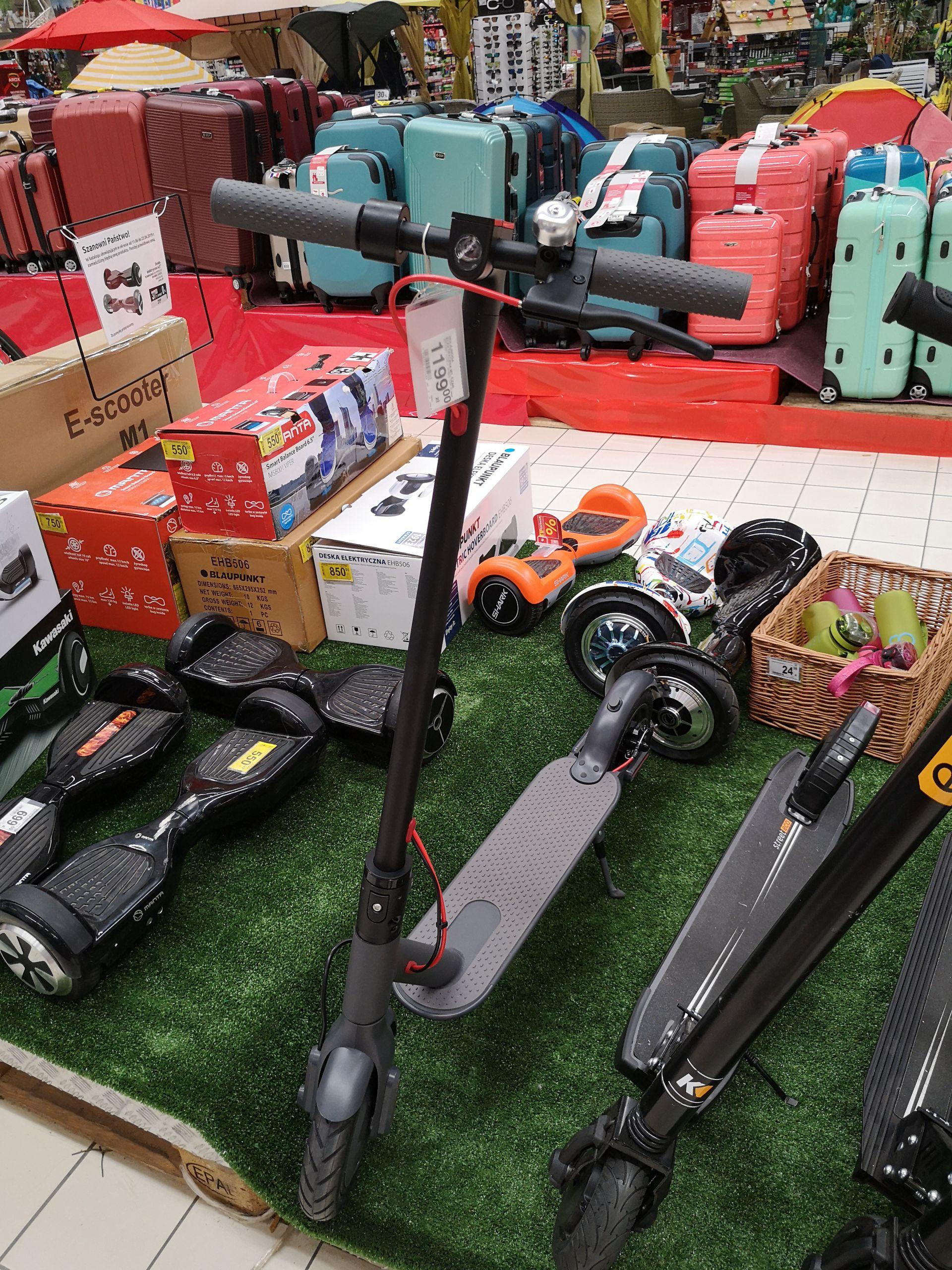 Hulajnoga elektryczna E-scooter M1