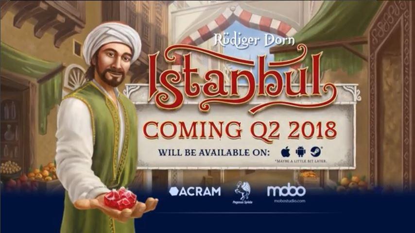 """Elektroniczna edycja gry planszowej """"Istanbul"""" (Android, iOS, Nintendo Switch, PC, Mac, Linux)"""