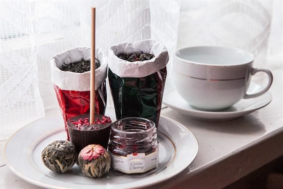 Box z herbatami premium, pierwszy box z 20% rabatem