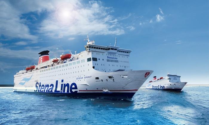 Stena Line: Rejs dla 2-4 osób Gdynia-Szwecja + powrót