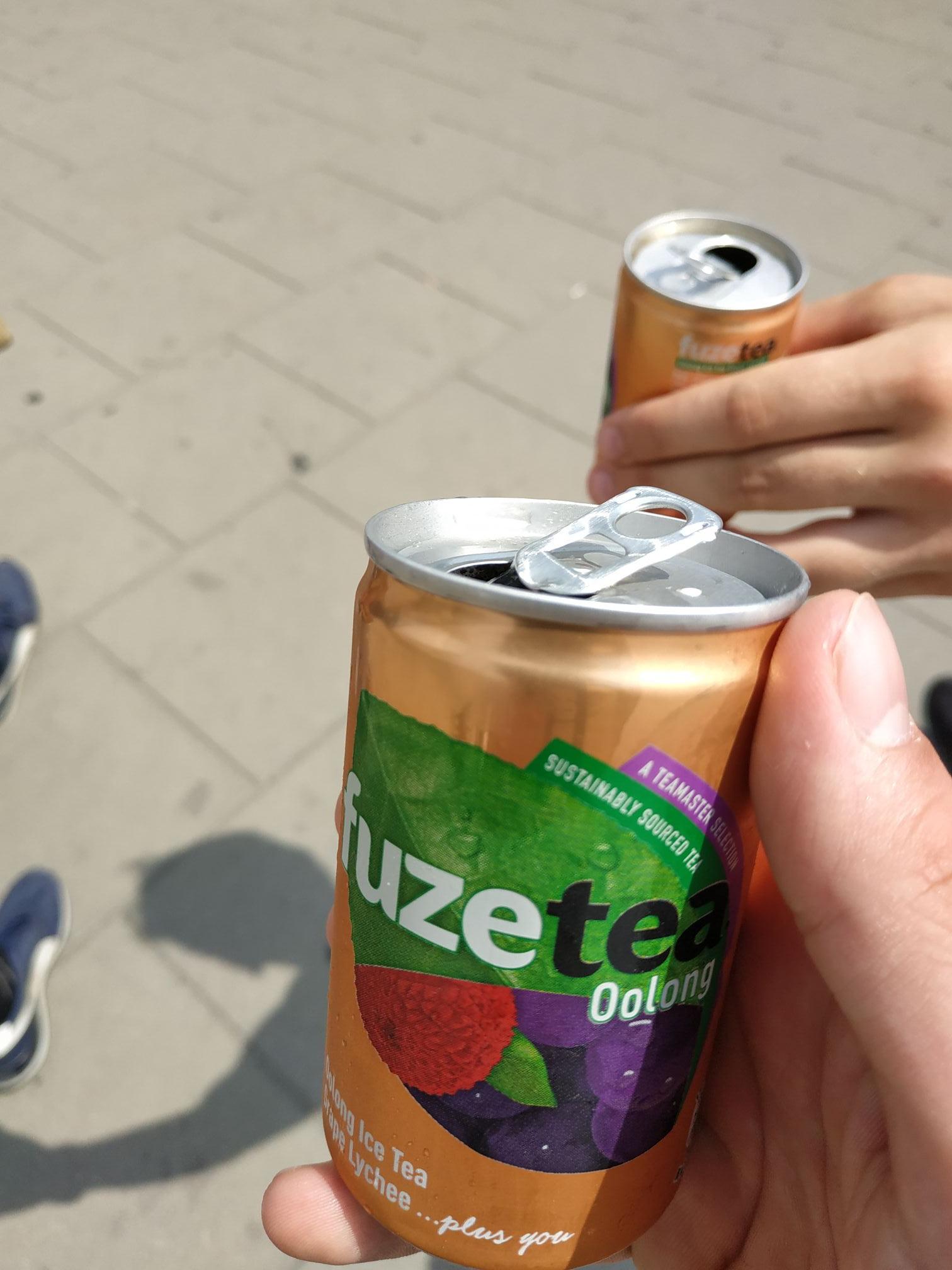 Darmowe FuzeTea Warszawa pod Pałacem kultury