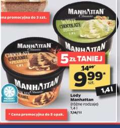 Lody Manhattan 1.4 L @Netto