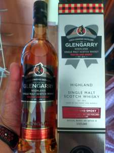 Whisky Single Malt Glengarry Peated And Smoky 0,7 ALDI