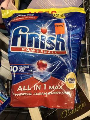 Tabletki do zmywarki finish all in 1 (70 tabletek) Aldi