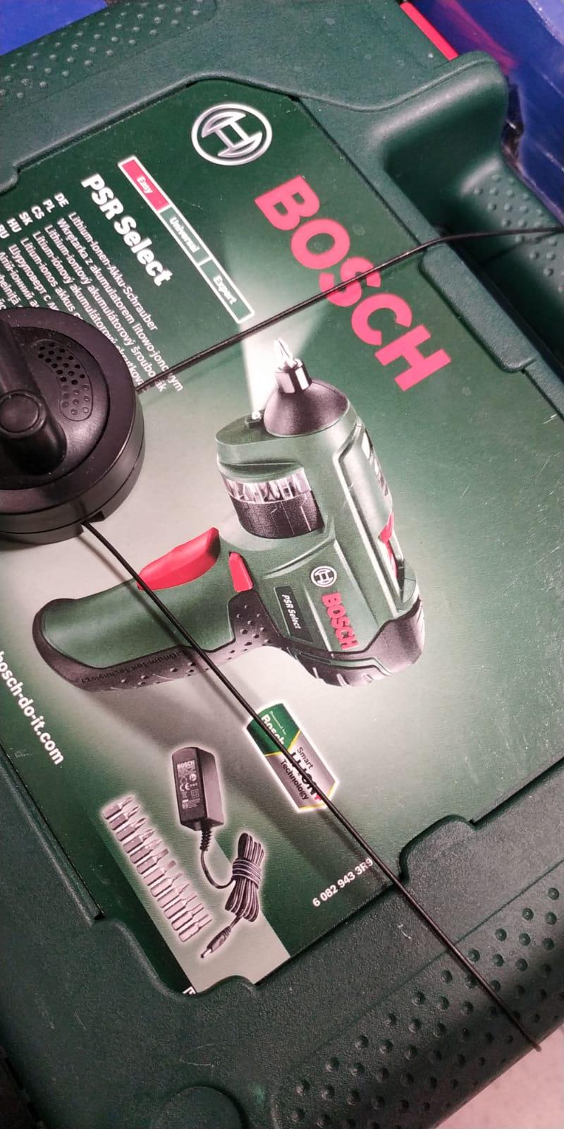 Wkrętarka Bosch PSR Select 3,6V 1500mAh