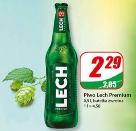 Piwo Lech Premium - markety Dino