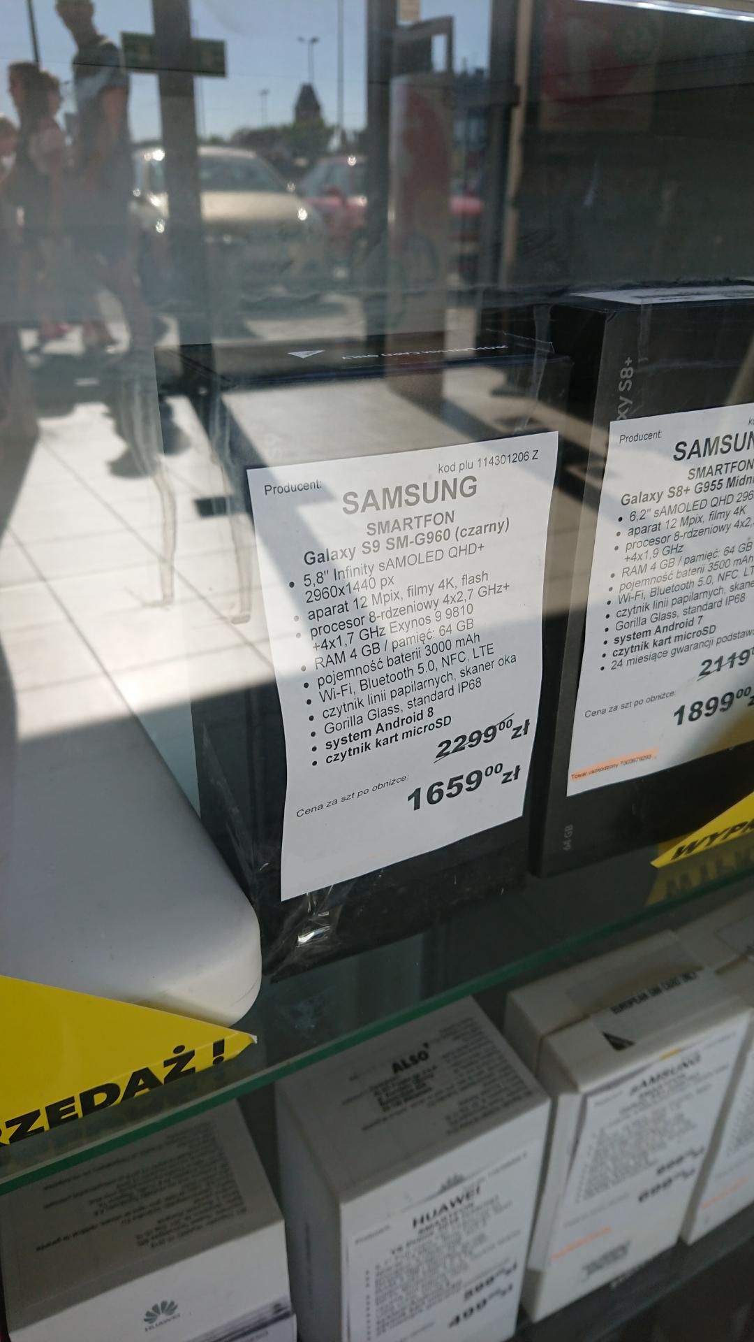 Samsung Galaxy S9 za niecałe 1700 zł