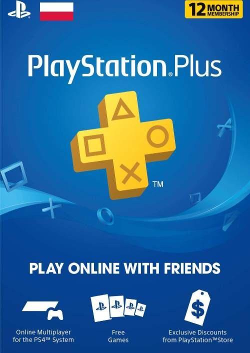 PlayStation Plus - 12 Miesięcy Subskrypcja (Polska)