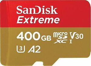 Karta MicroSD SanDisk Extreme 400GB UHS-3 V30 A2 z Ebay.de za 67,19 EUR
