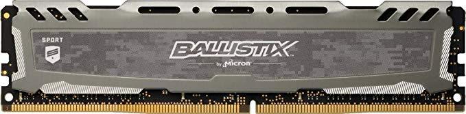 RAM DDR4 1x8GB 3000MHz CL15 single rank Crucial Ballistix Sport LT