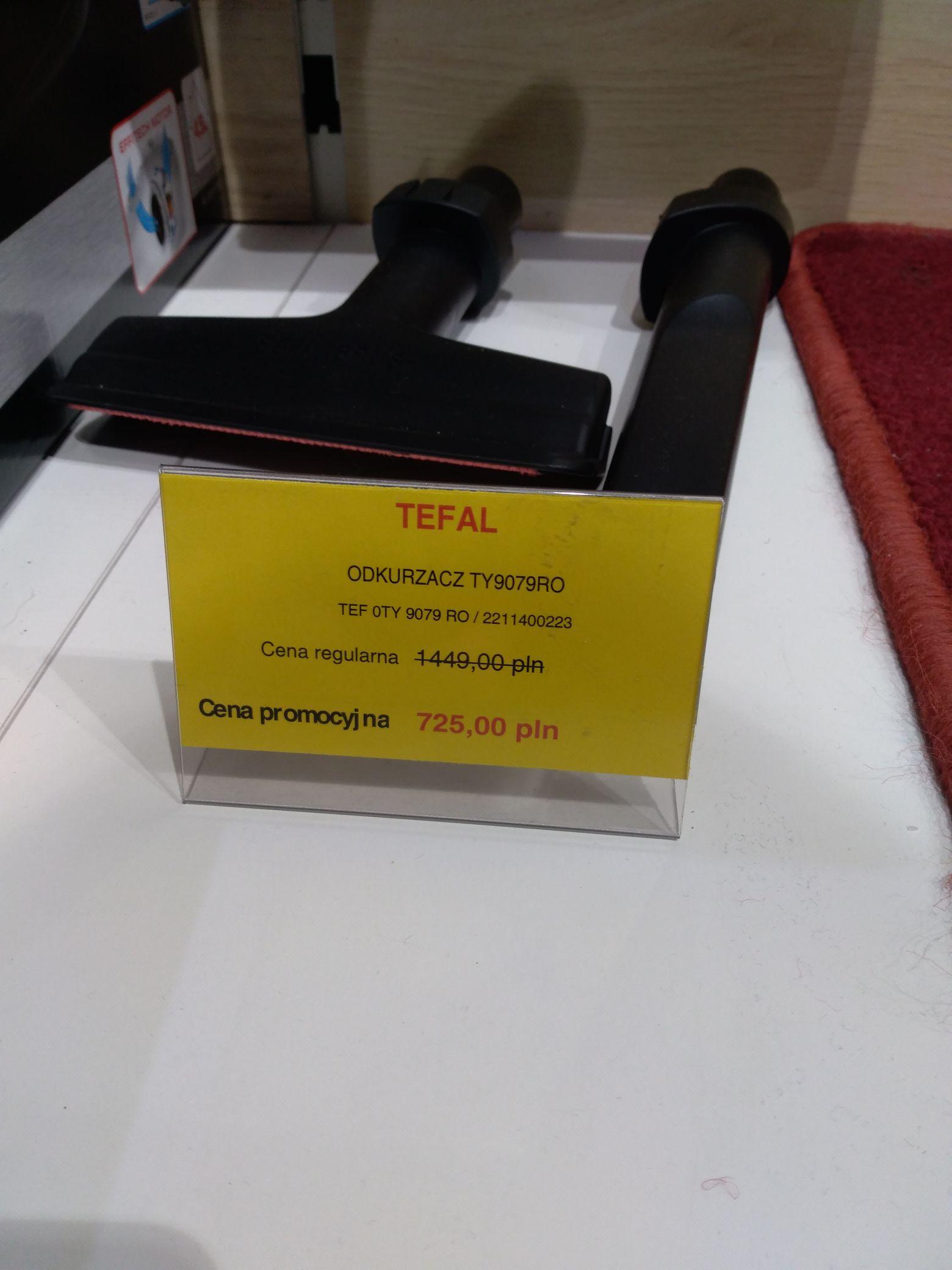 Odkurzacz akumulatorowy TY9079 Tefal Szczecin CH Galaxy