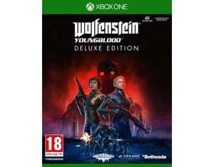 Wolfenstein Youngblood Deluxe Edition + Steelbook Xbox One/PS4/PC/Nintendo Switch