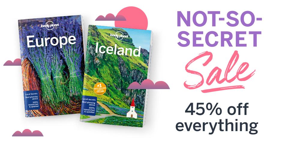 45% taniej wszystkie książki z Lonely Planet (przewodniki w En)