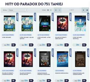 Hity od Paradox do -75% taniej [STEAM] (Europa Universalis 4. Crusader Kings II, Cities: Skylines i inne!) @ CDP