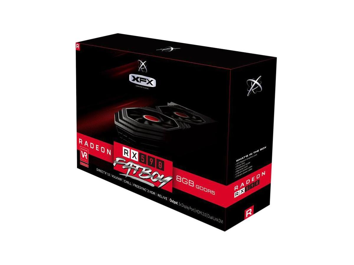 Karta graficzna XFX Radeon RX 590 Fatboy 8GB GDDR5
