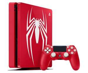 PlayStation 4 Slim Red - 1TB (Spider-Man Bundle) Limited Edition