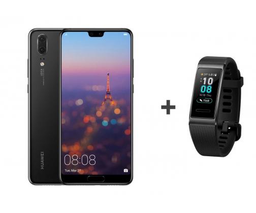 Huawei P20 64GB +  Huawei Band 3 Pro (X-kom)
