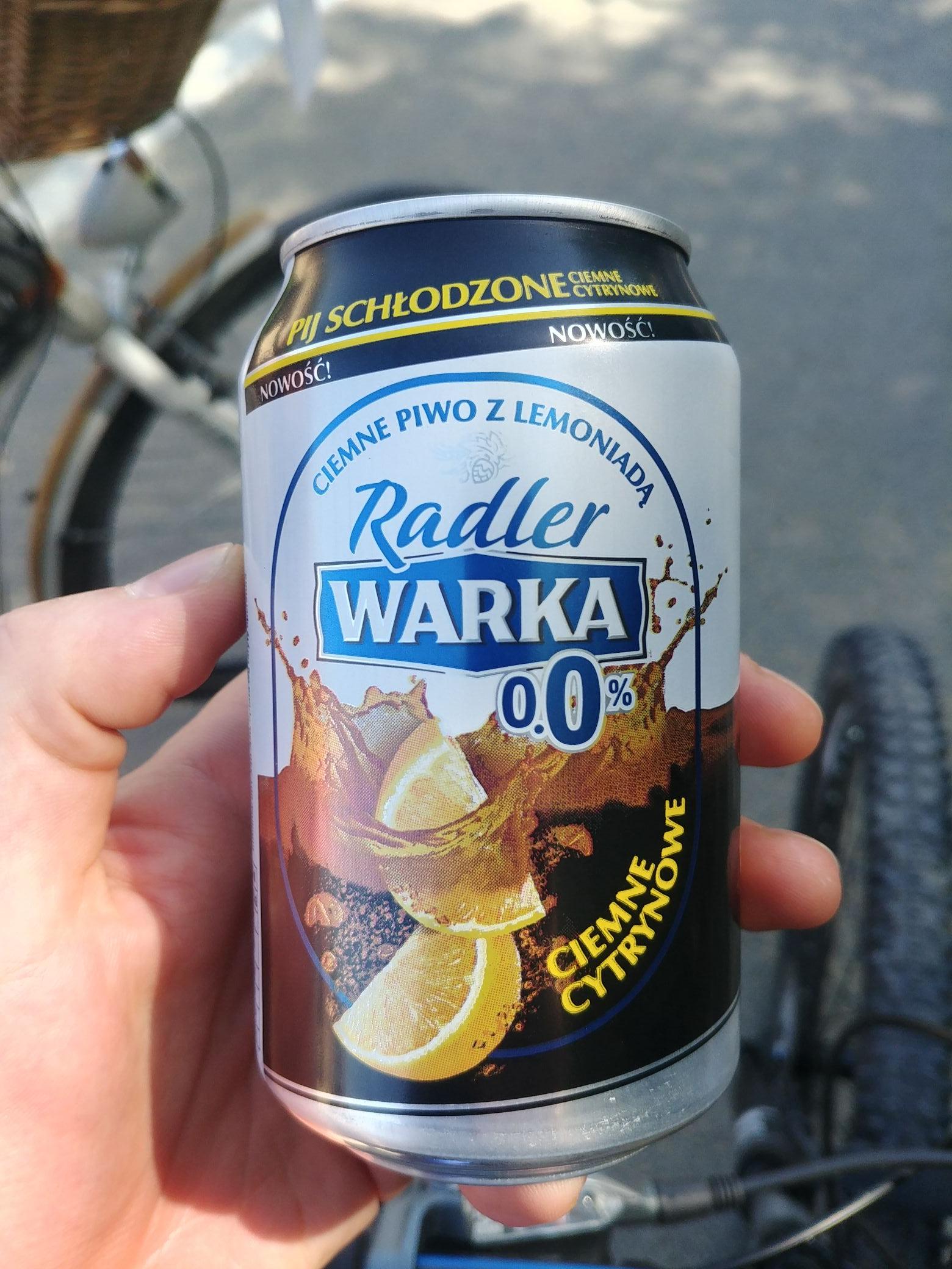 Warka radler za free na żwirowni Rzeszów