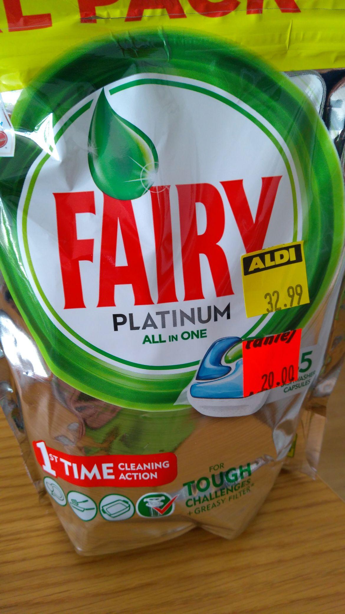 Aldi Będzin Fairy Platinum 45szt