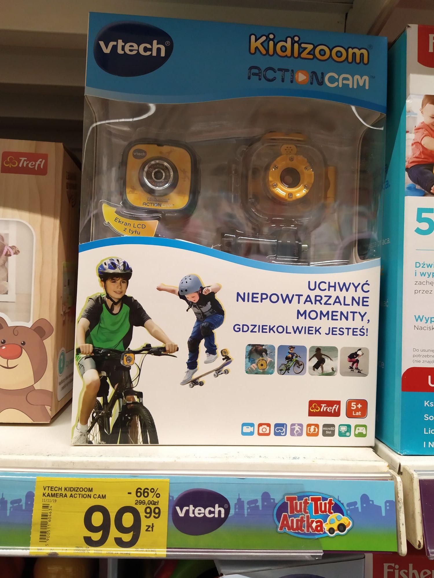 Kamerka sportowa dla dzieci VTech Kidizoom Action cam