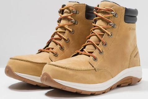 COLUMBIA BANGOR BOOT - Męskie skórzane buty
