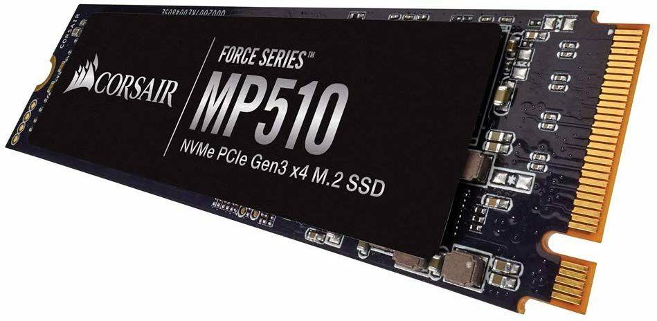 Corsair Force MP510 960 GB NVMe PCIe Gen3 x4 M.2 SSD