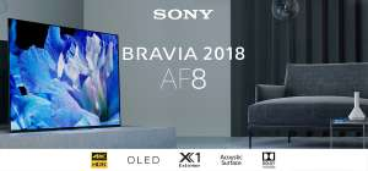 Telewizor Sony OLED 65AF8 @ Warszawa Galeria King Cross