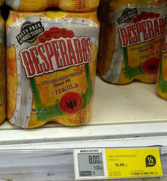 DesperadoS Red w Tesco