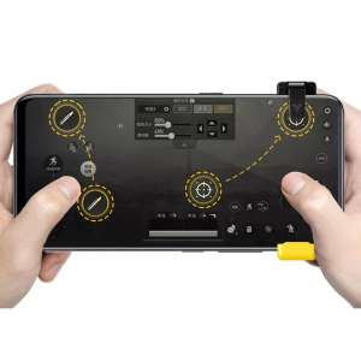 Flydigi  kontroler do mobilnej wersji PUBG - Android i Iphone