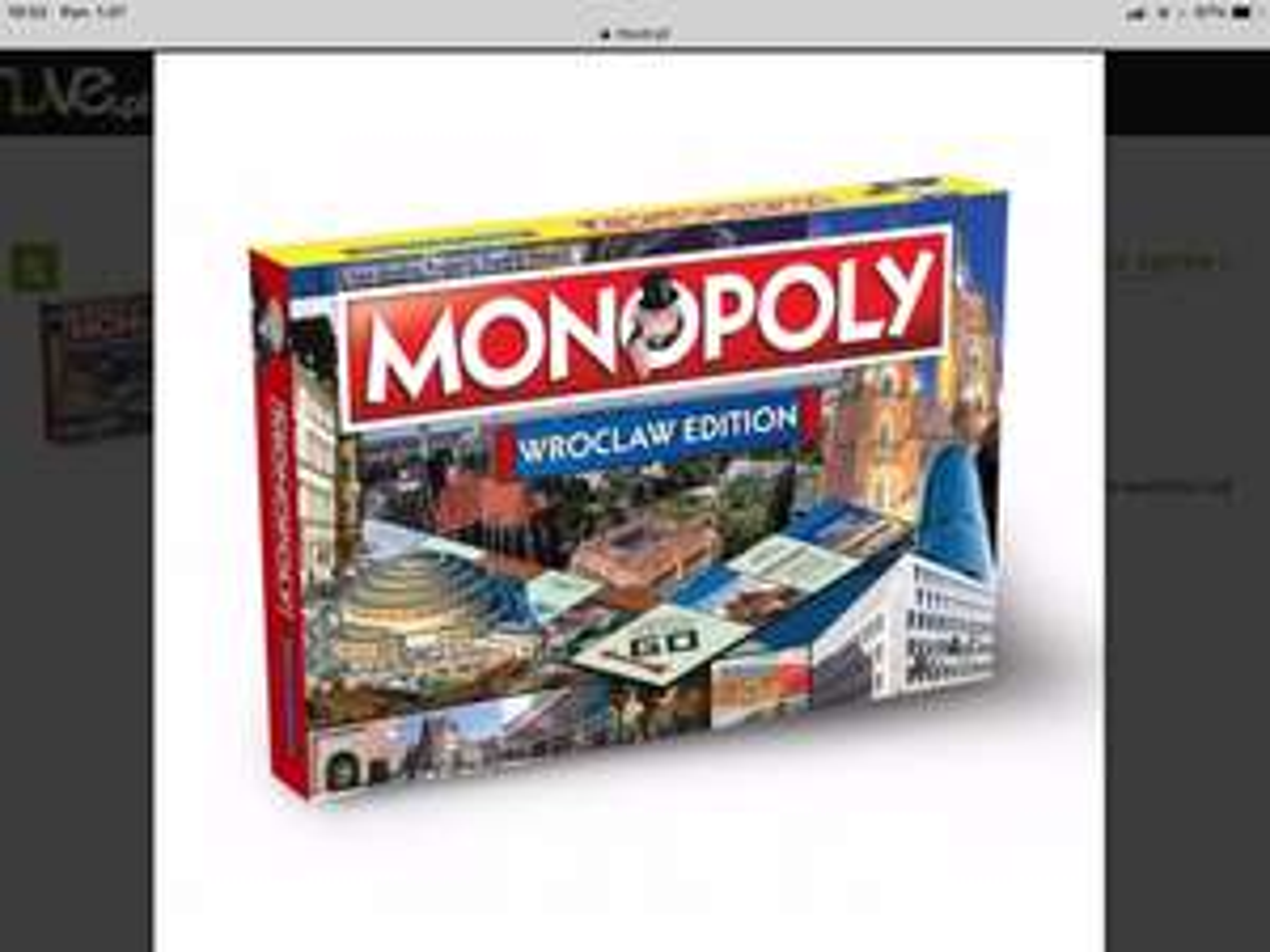Monopoly Wrocław ENG
