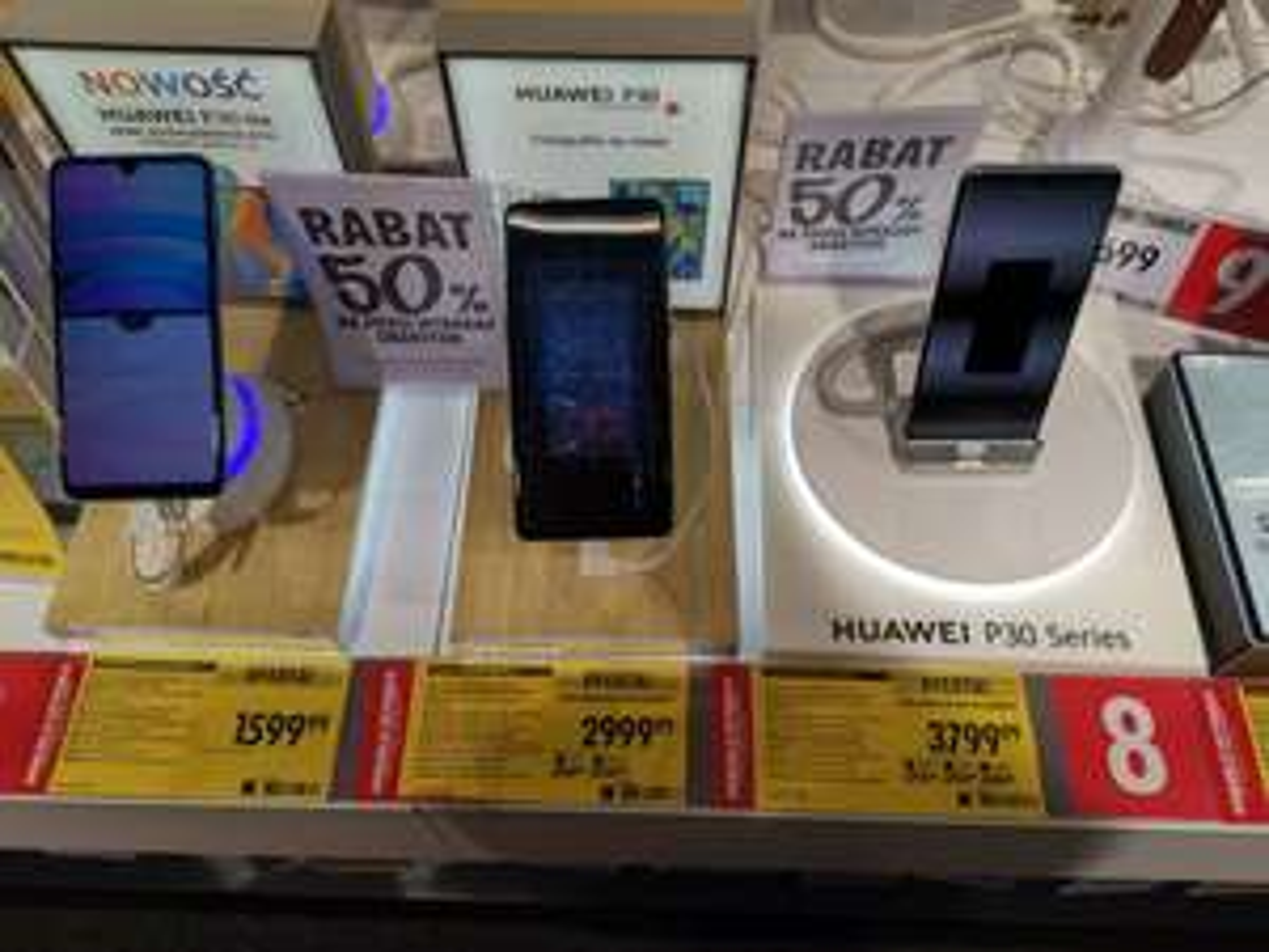 P30/P30 Pro taniej o 500 zł + akcja Huawei